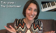Tuto Piano facile the entertainer