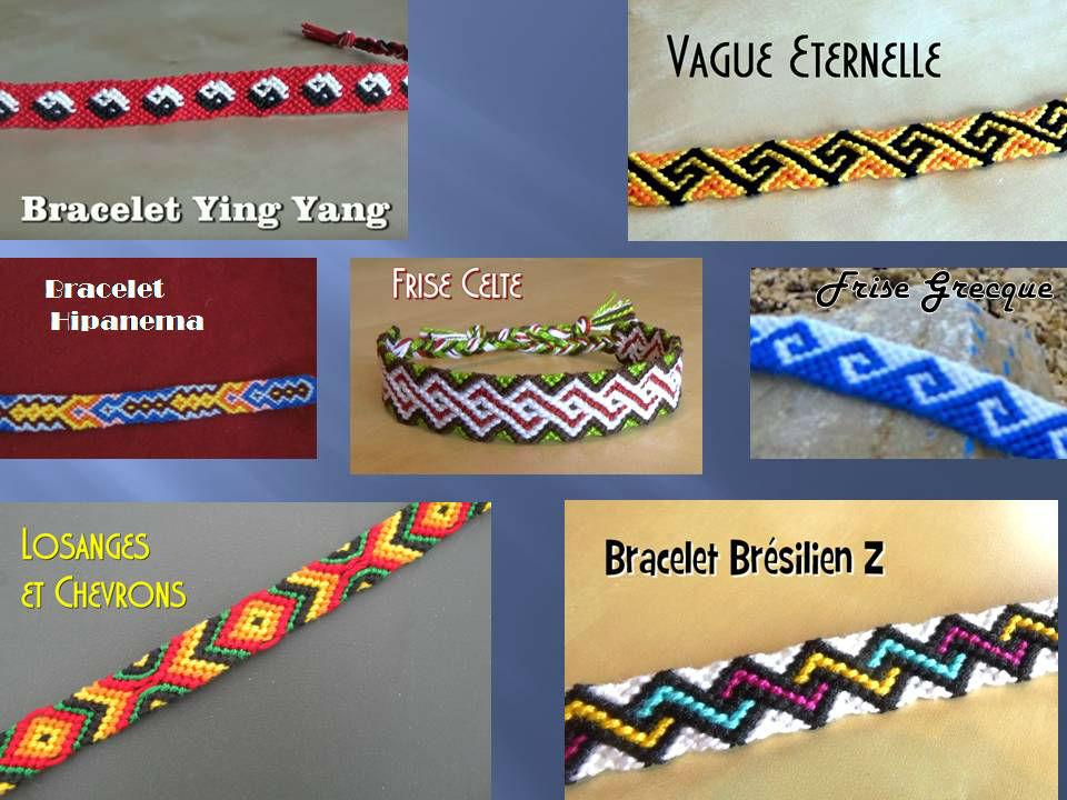 Bracelets Brésiliens Avancés Modèles 2