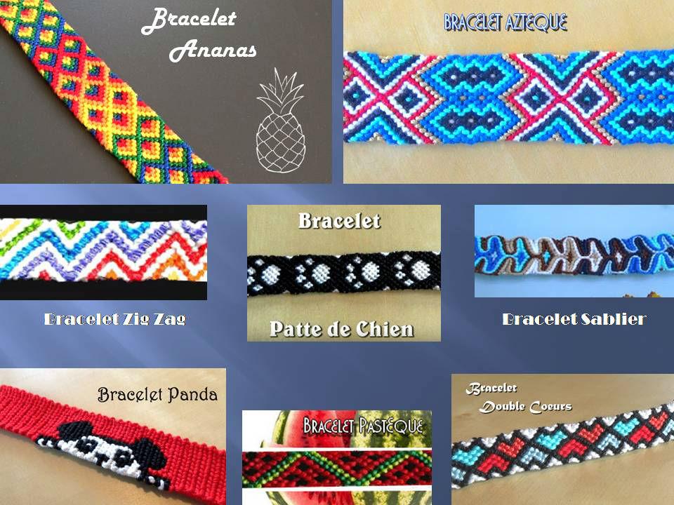 Bracelets Brésiliens Avancés Modèles