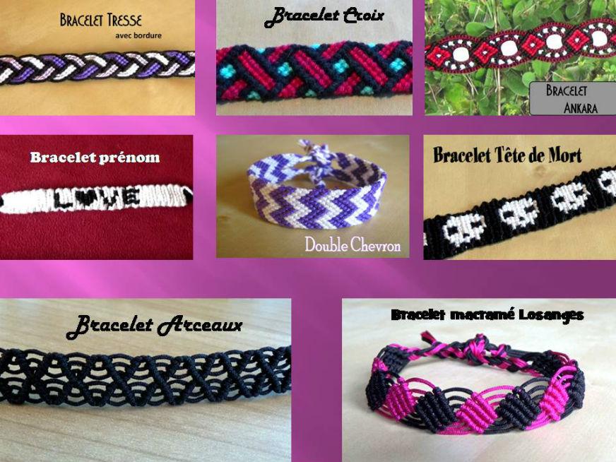 Bracelets Brésiliens Intermédiaires Modèles