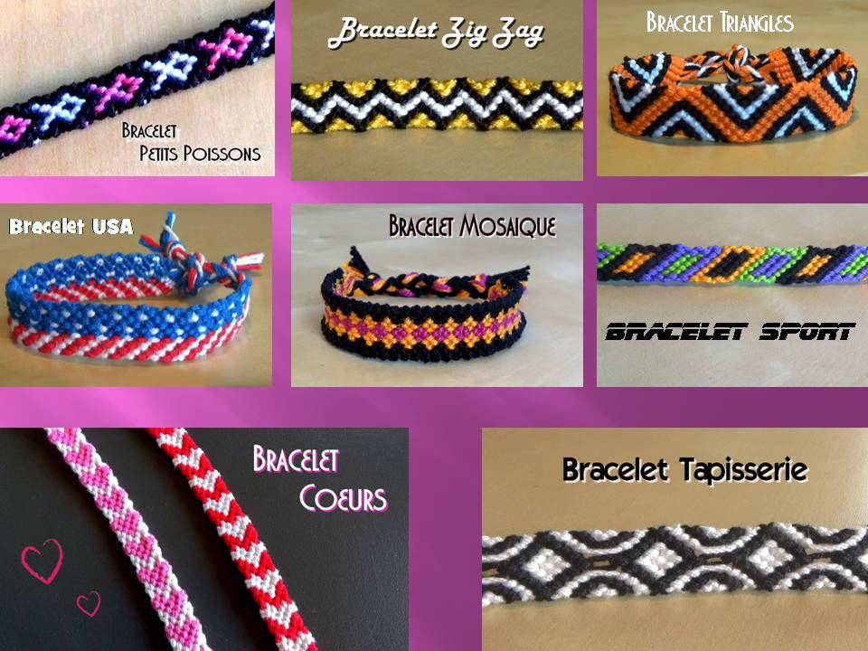 Bracelets Brésiliens Intermédiaires