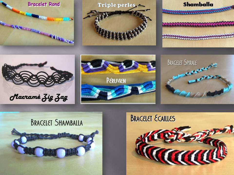 Bracelets Brésiliens Débutants Facile 2