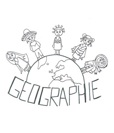 Page de garde géographie monde enfants terre planète